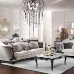 Opale divano tre posti e poltrona